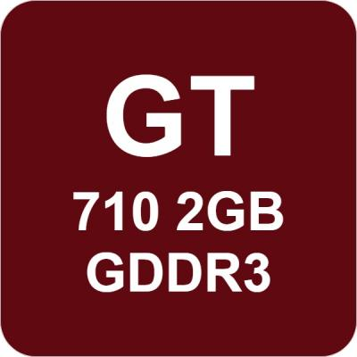 GeForce GT 710 2GD3H LP 2GB GDDR3