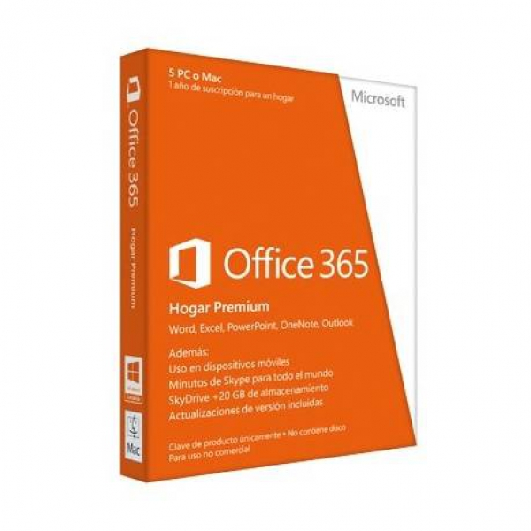 Microsoft Office 365 Home Premium 5L/1A